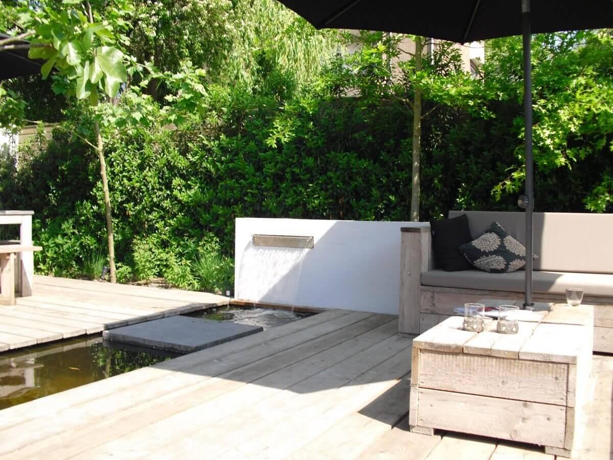Voorbeeldtuinen luxe tuinen aangelegd door nederveen tuinen