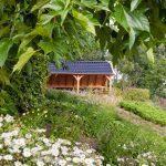 grote terrasoverkapping tuinaanleg tuinman Alphen aan de Rijn