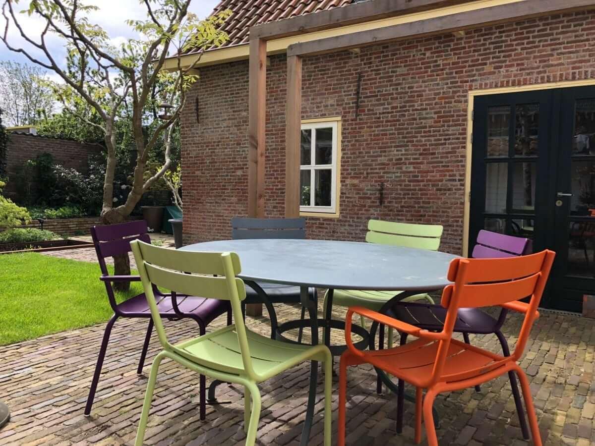 terras aanleg hovenier Amsterdam