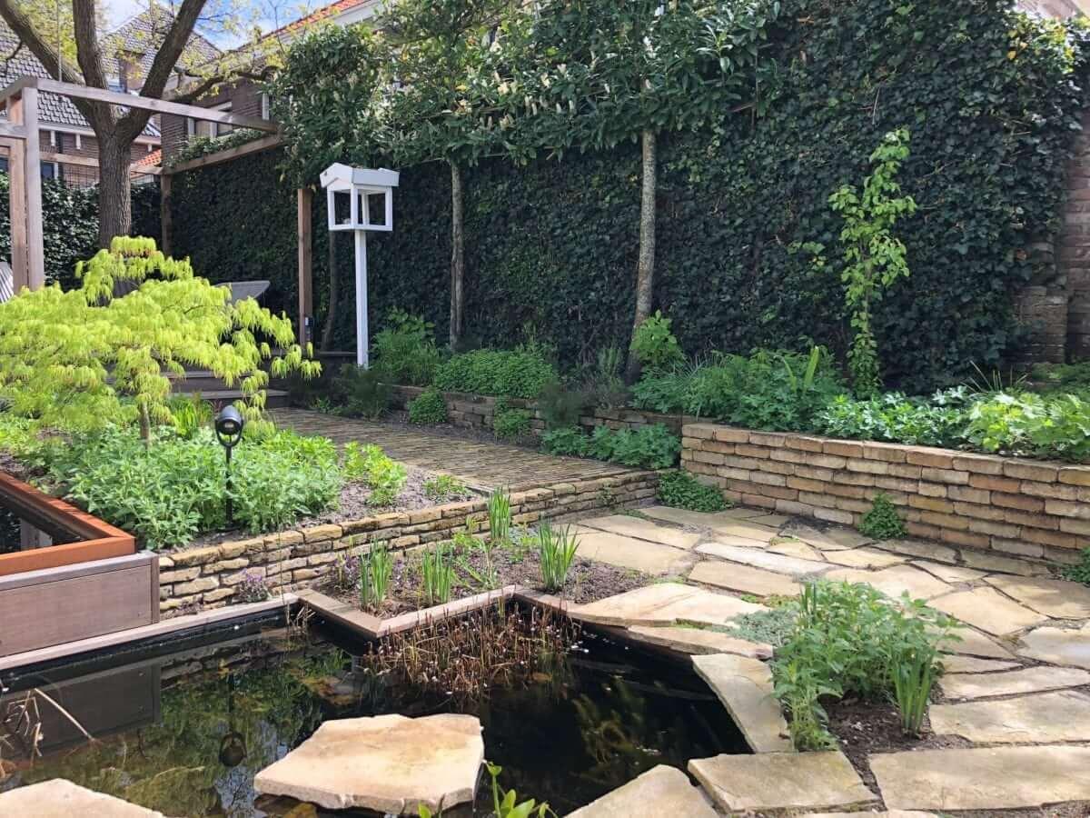 MBI tegels tuinman Amsterdam Heemstede