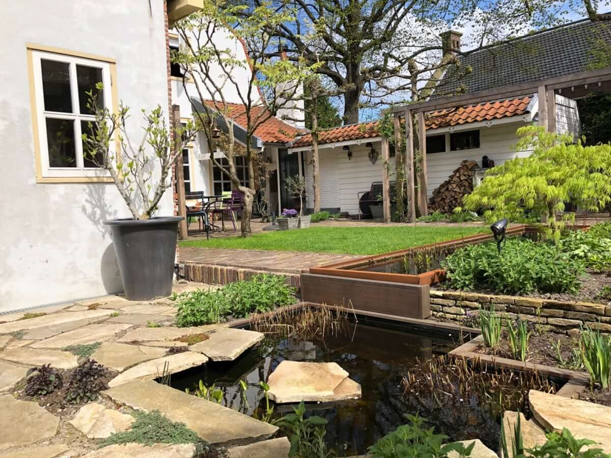 tuinaanleg Amsterdam natuurlijke tuin