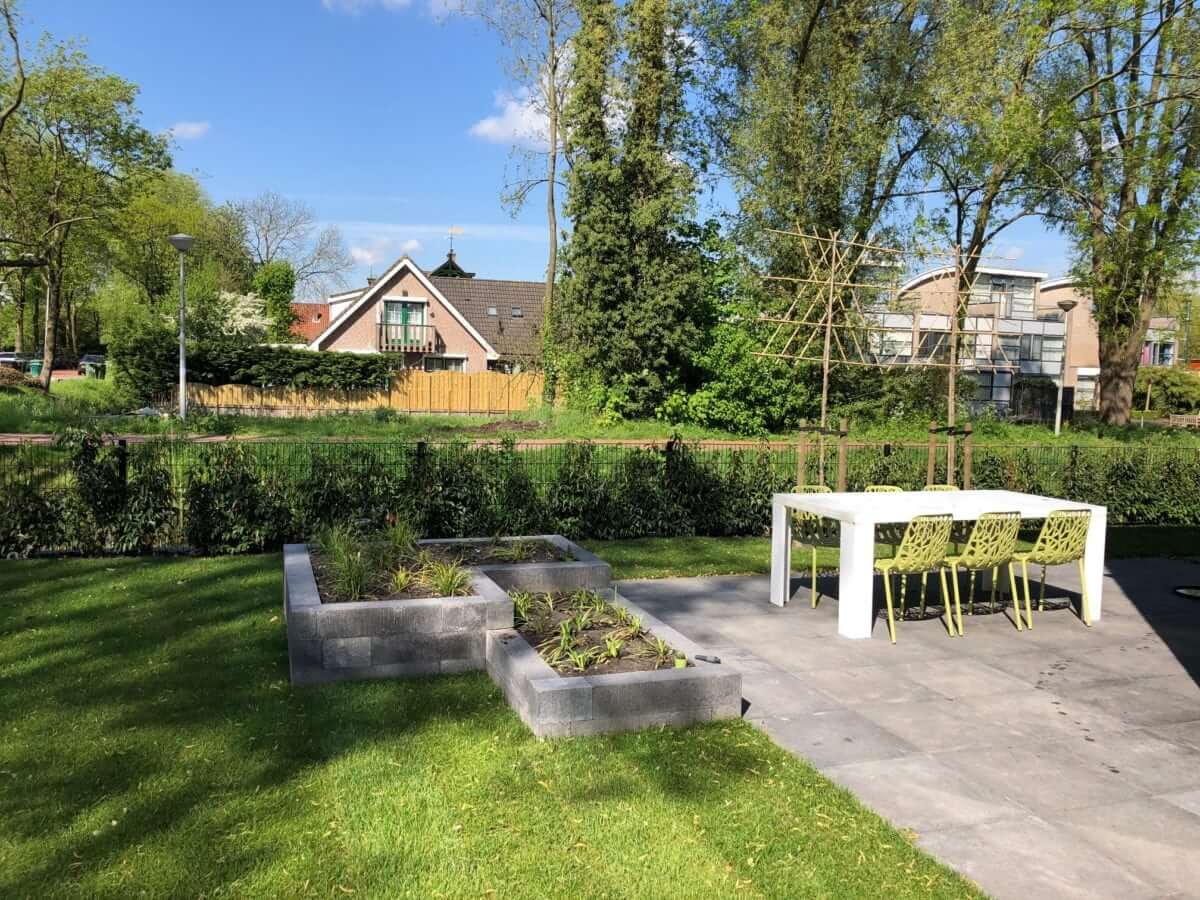 verhoogde plantenbak tuinman Amsterdam