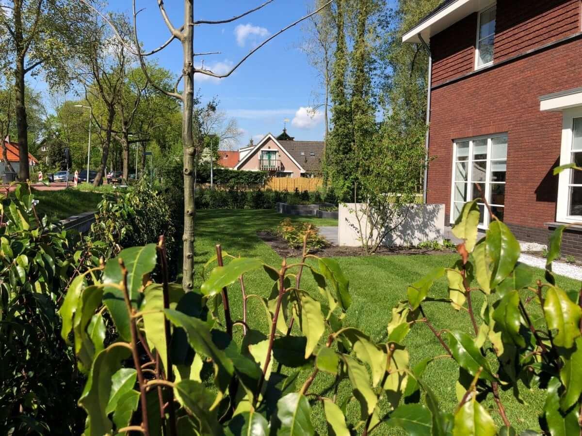 tuinaanleg Amsterdam strakke tuin