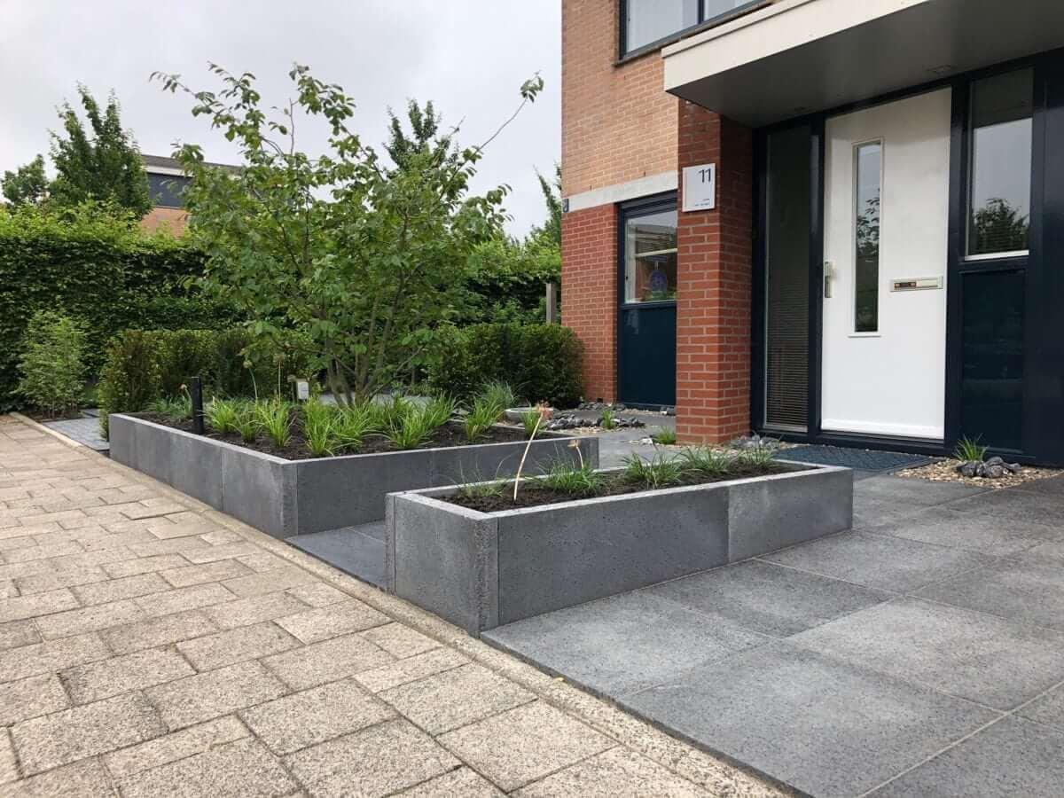 voortuin aanleg tuinman Amsterdam