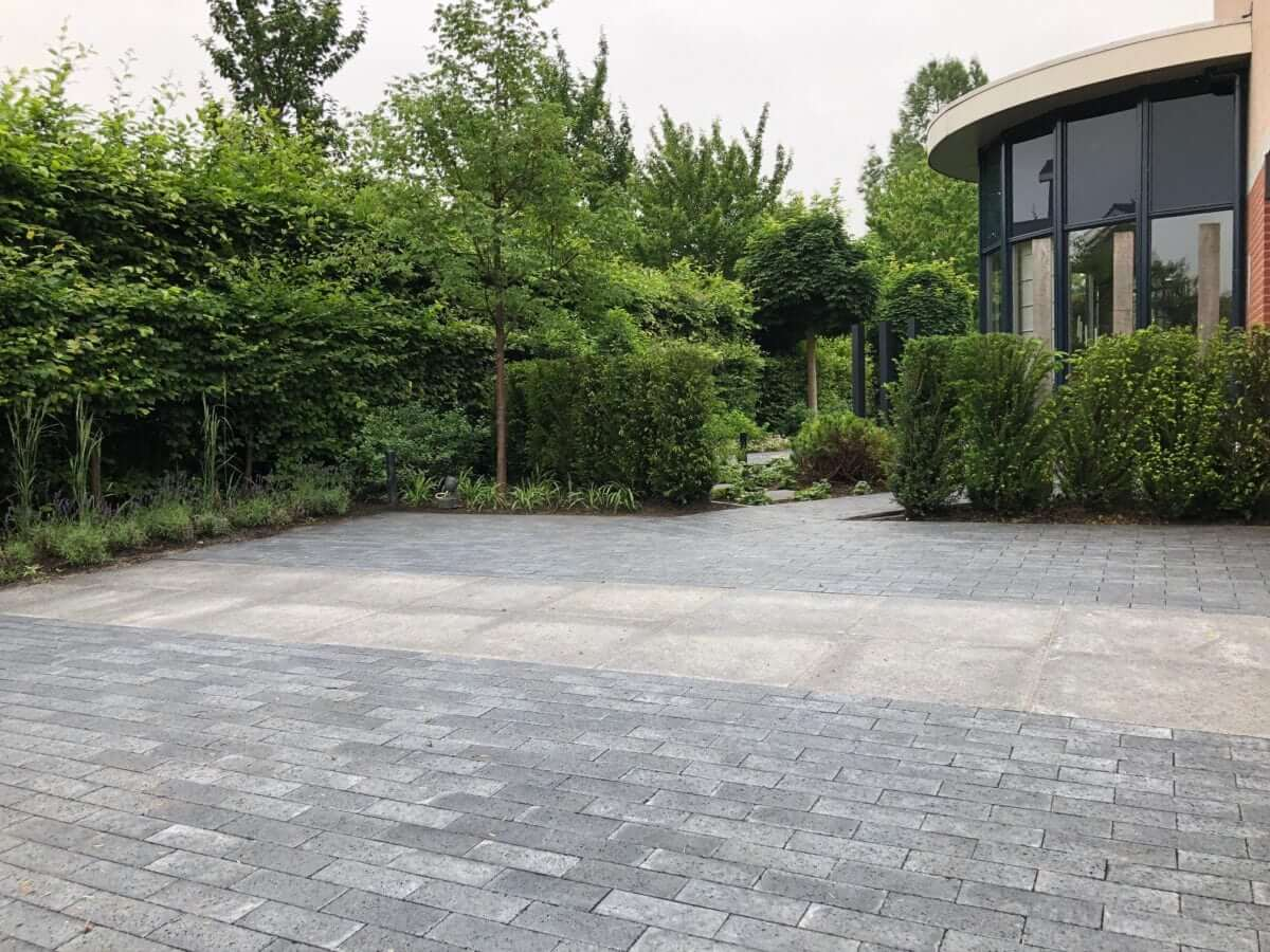 voortuin betontegel Schellevis