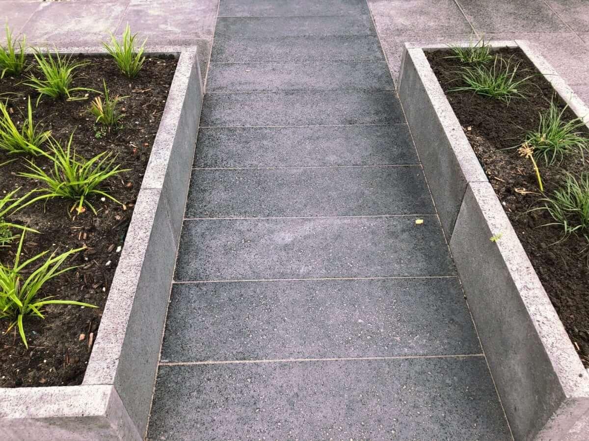 beton aanleg hoveniersbedrijf Amsterdam
