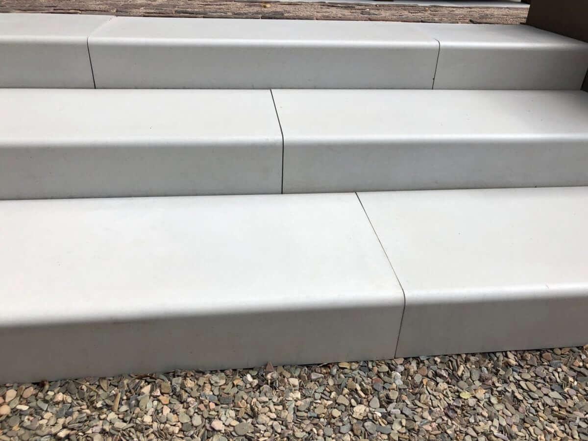 betonnen trap tuin mega smooth