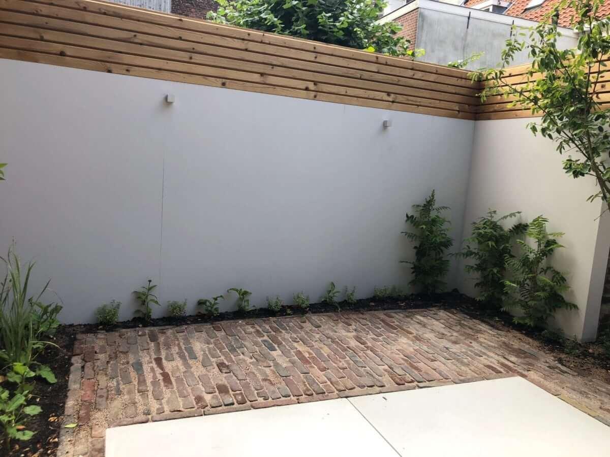 schutting Amsterdam beton hout