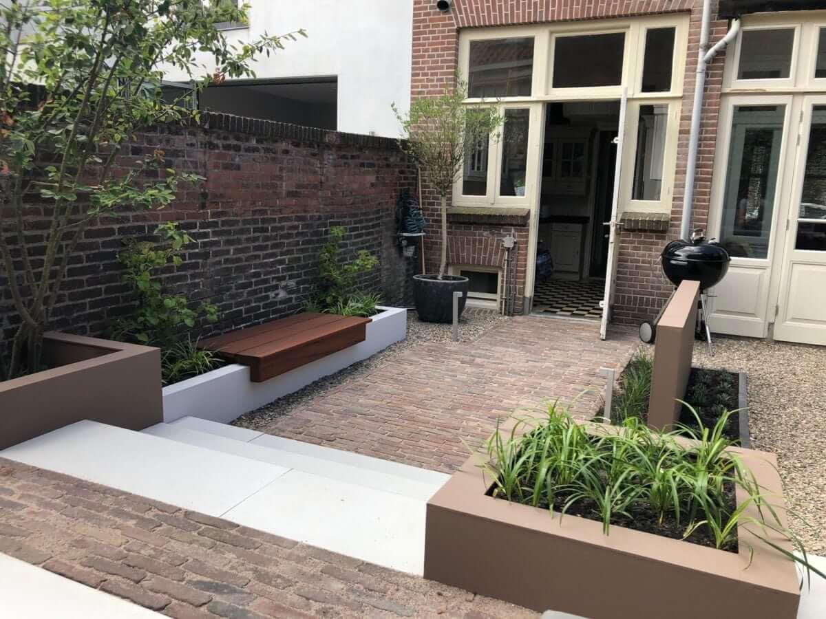 kleine tuin idee tuinaanleg Haarlem