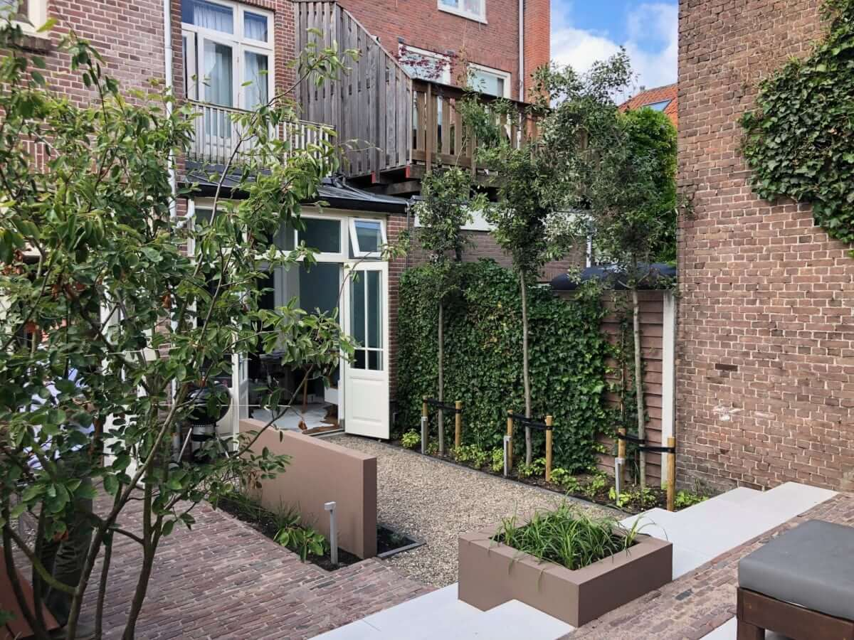 kleine tuin stad tuinman Amsterdam