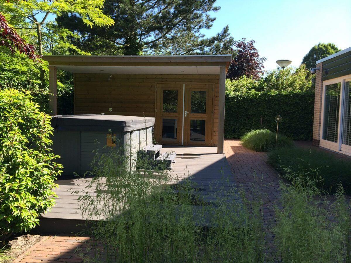 hot tub tuin hovenier regio Amstelveen