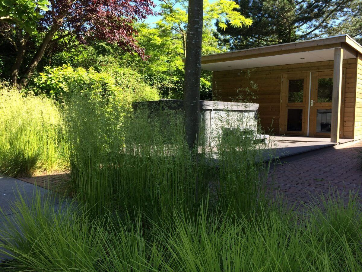 grassentuin tuinaanleg tuinman Badhoevedorp