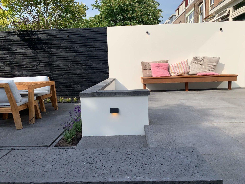 kleine tuin betonlook tuinontwerp