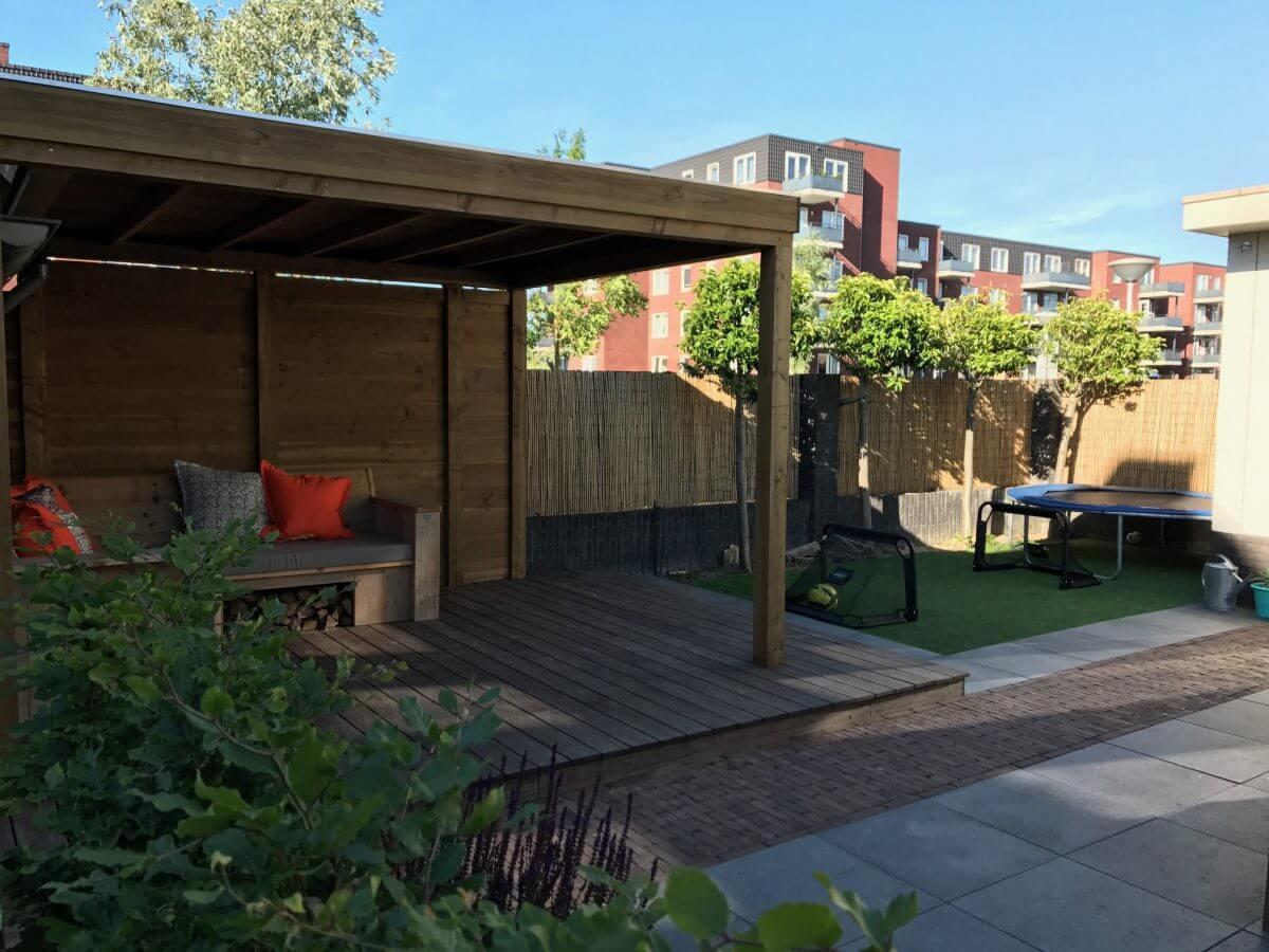 veranda tuinman Amsterdam hout