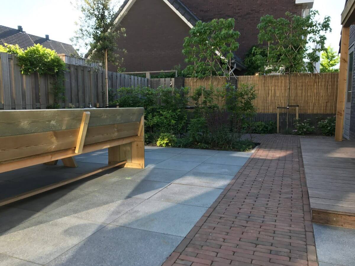 douglas hout terras overkapping tuinman Amsterdam