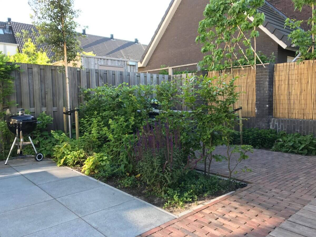 natuuursteen klinkers aanleg tuinman Amstelveen