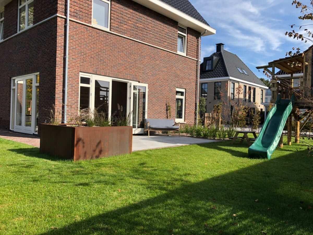terras cortenstaal oud hollands