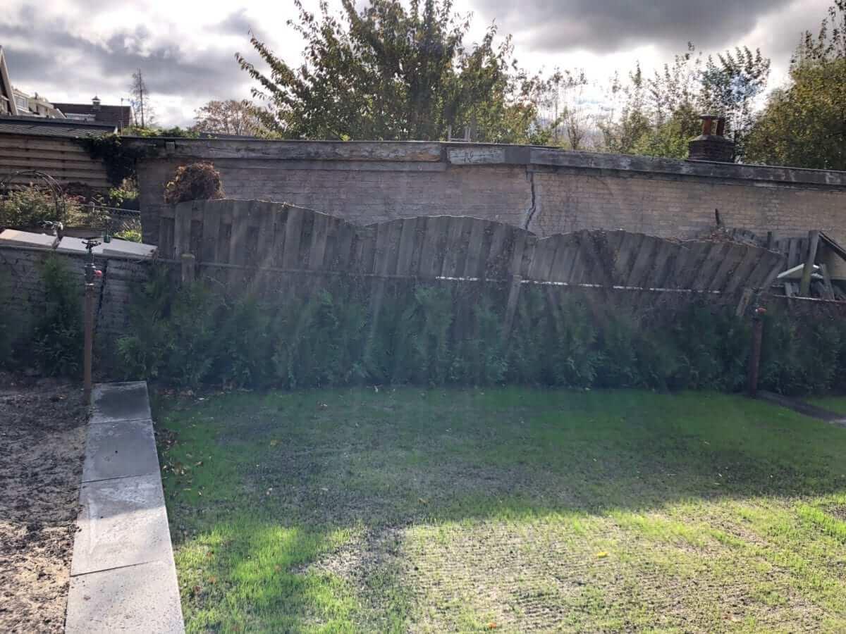 grondwerk tuin aanleg tuinman