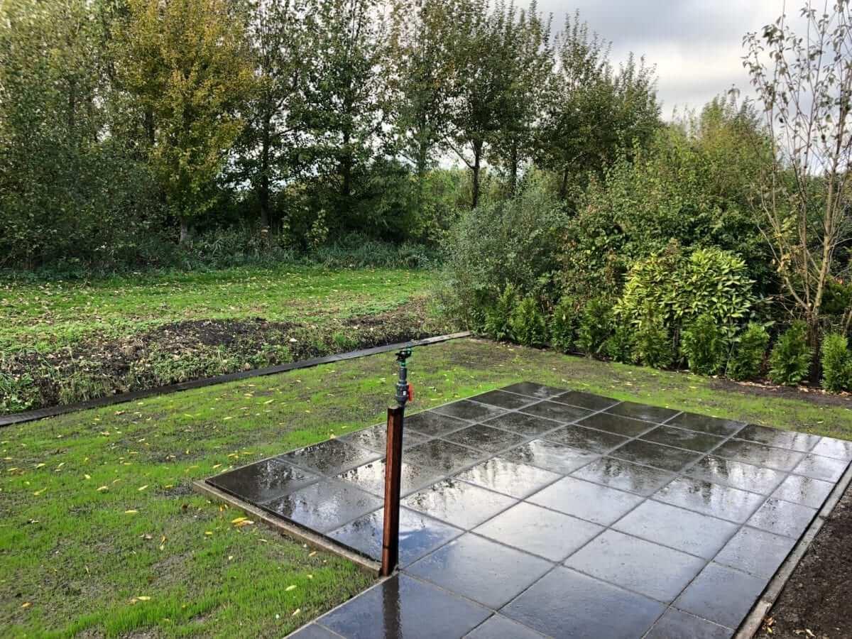 aanleg gras tuinman amsterdam