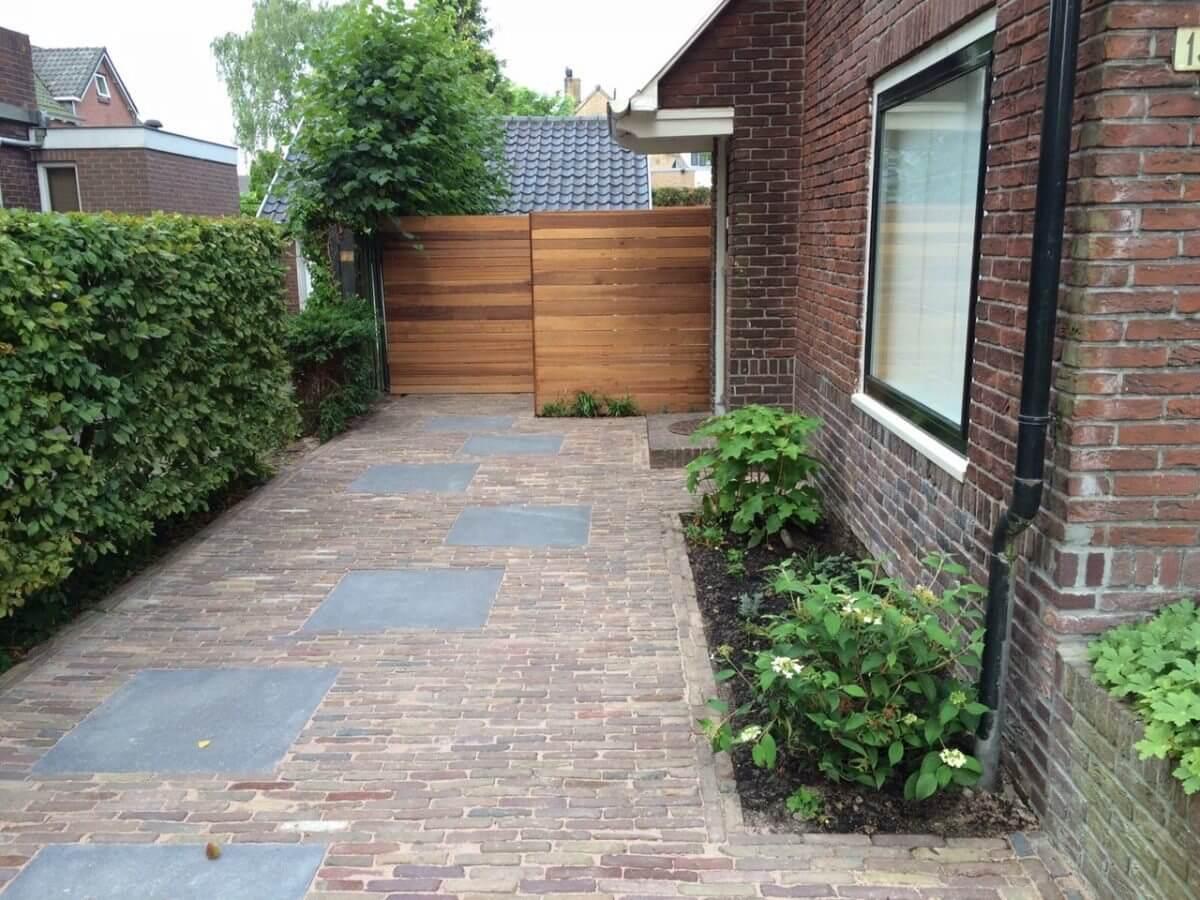 schutting op maat tuinaanleg hoveniersbedrijf Haarlem