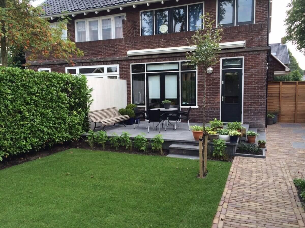 hoveniersbedrijf Amsterdam en omgeving beton tegels