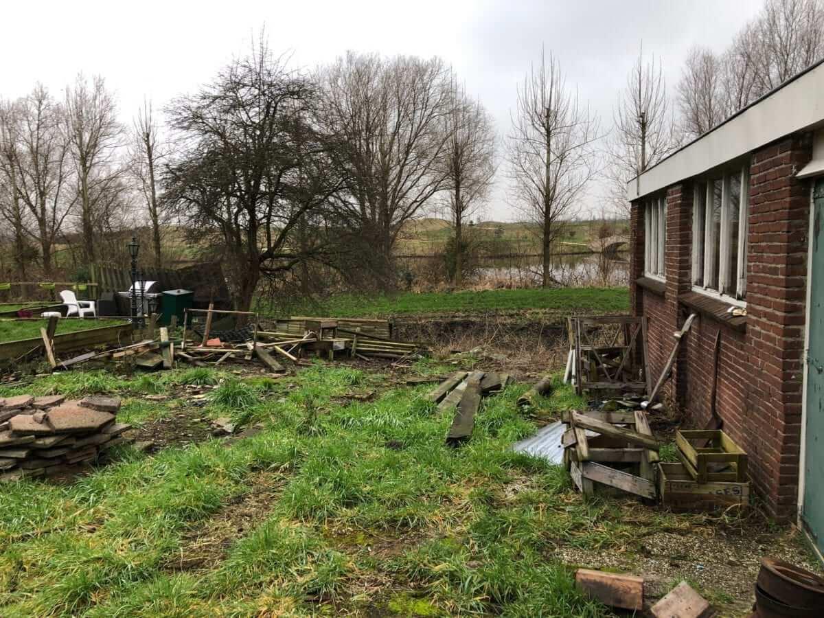tuinaanleg ontwerp tuin grondwerk