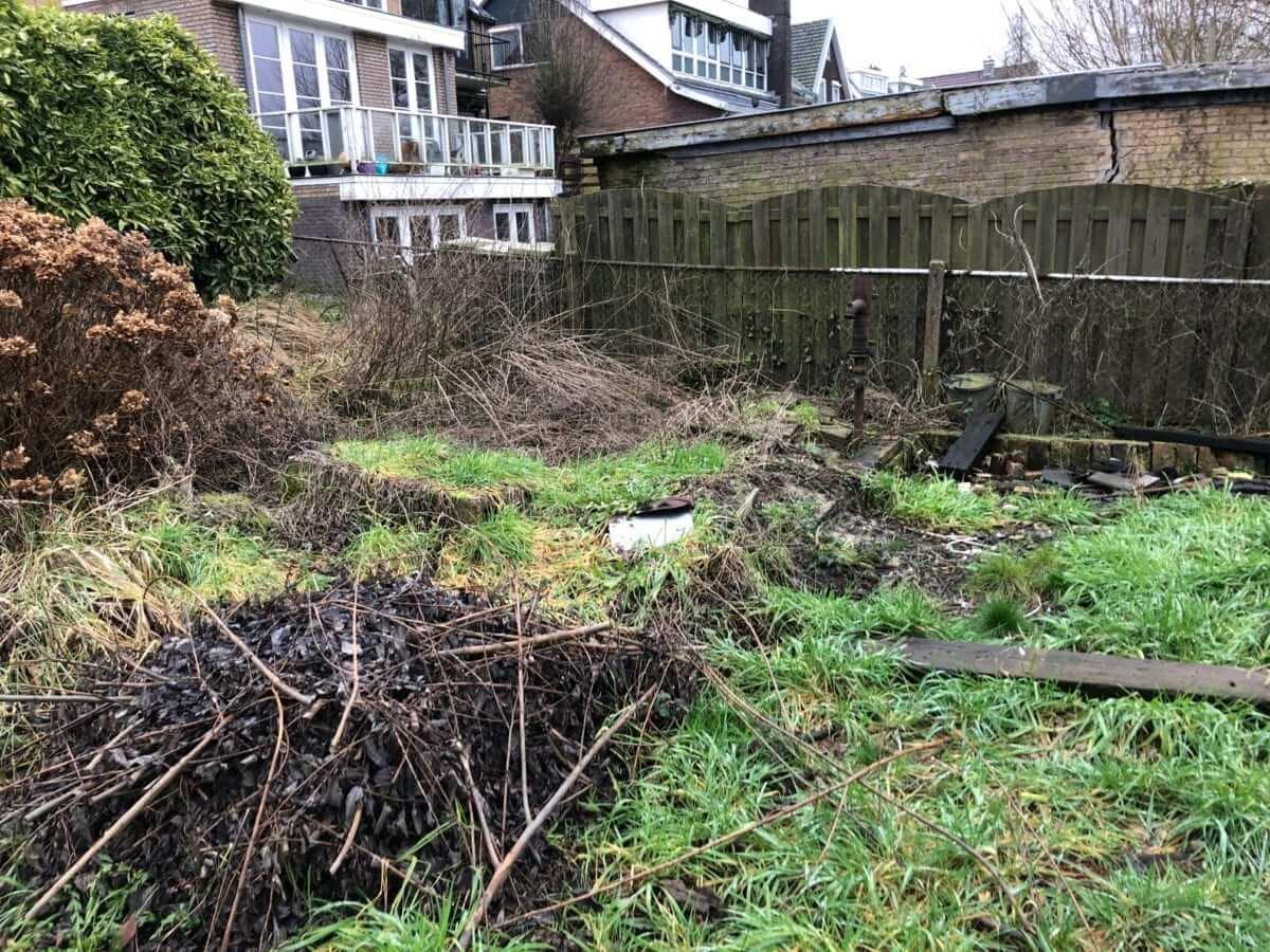 aanleg vlonder tuinman Amsterdam