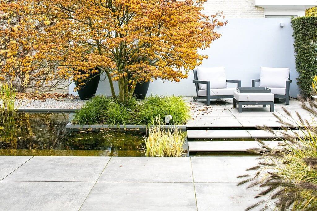 keramiek buitentegel tuinman haarlem tuinaanleg