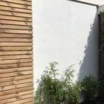 hardhouten schutting betonlook tuinaanleg hoveniersbedrijf