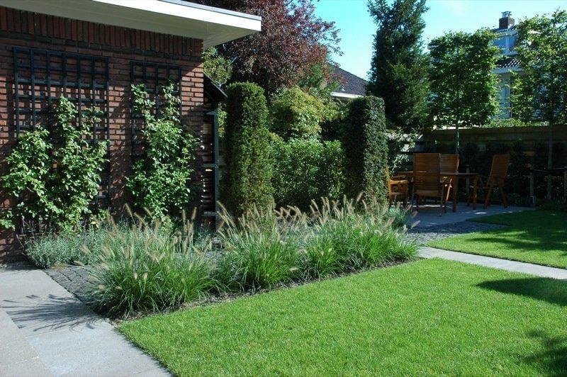 Hovenier aanleg regio Amstelveen grassen beton