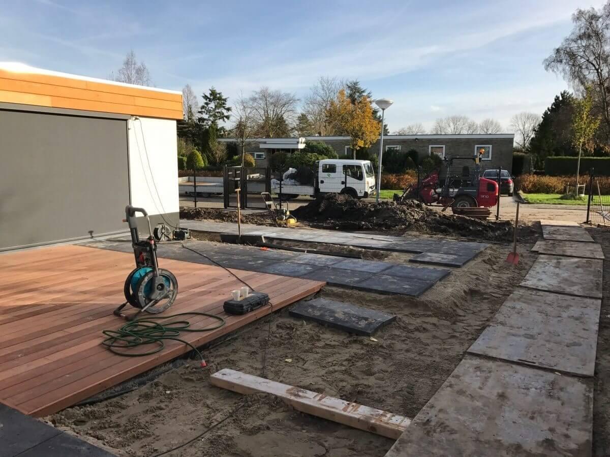 Tuinaanleg Haarlemmermeer hovenier aanleg verharding
