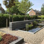 vijver tuinaanleg grindpad tuinman Amsterdam